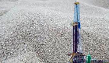 Fracking sands