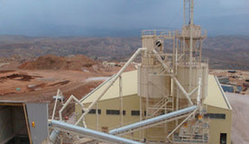 Dolomite treatment plant for sand production