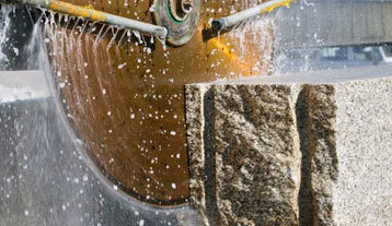 Polishing and recycling of ornamental stone