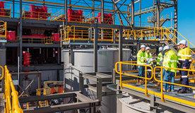 Planta de filtración de subproductos generados en la producción de hidróxido de litio