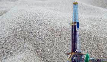 Arenas para fracking