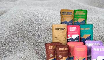 Dry mortar sands