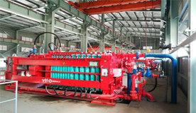 Planta de filtración de concentrado de cobre, hierro y pirita