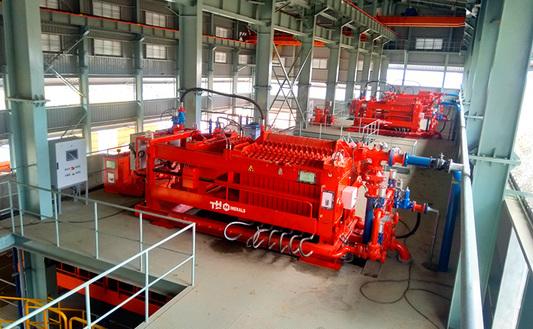 Copper & iron ore filtration plant  TH