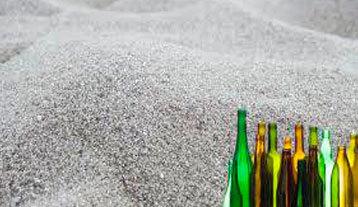 Glass sands