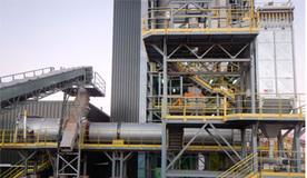 Planta de secado para fabricación de mortero seco