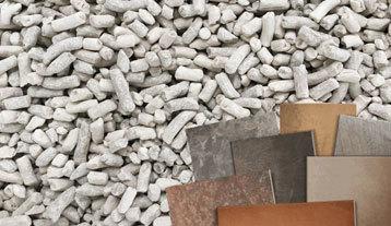 Arenas, arcillas y caolines para productos cerámicos