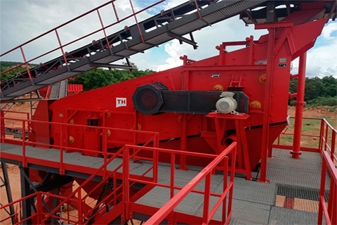 WSC Wet Vibrating Screens