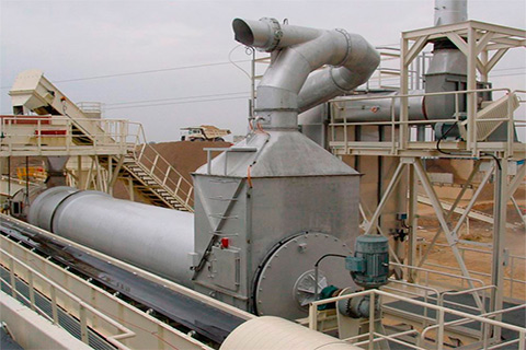 SR rotary drum dryer
