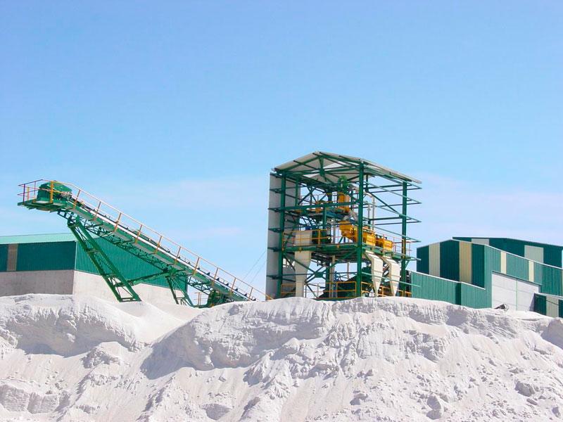 Planta de tratamiento de arenas de sílice