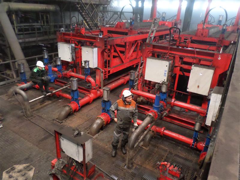 Planta de filtración de tailings de carbón