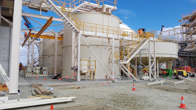 Planta de filtración de concentrados de zinc, cobre y plomo
