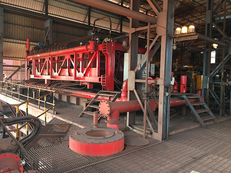 Planta de filtración de concentrados de hierro