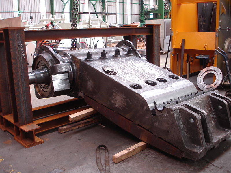 TR jaw crusher