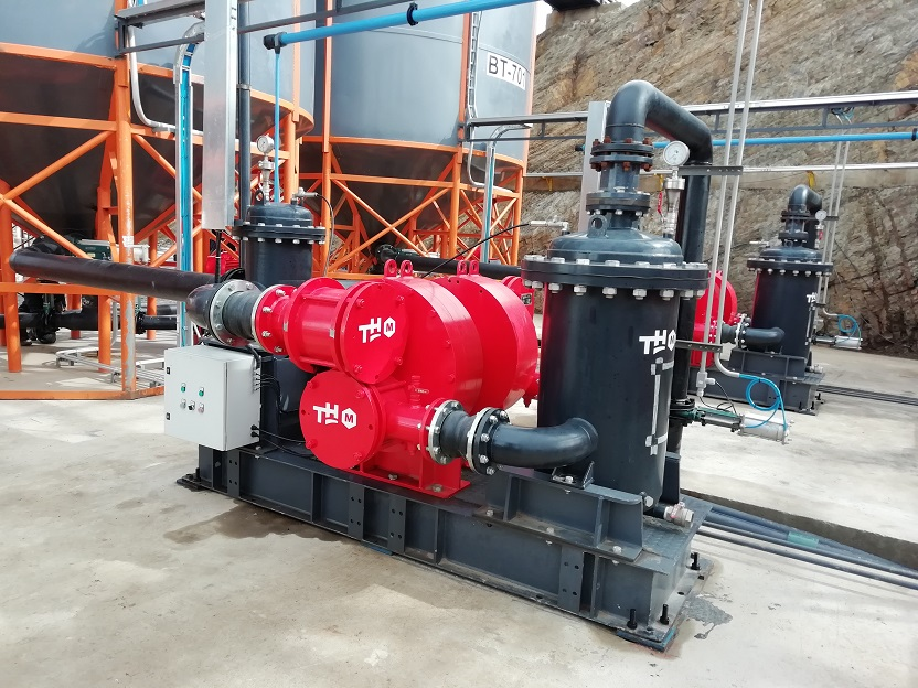 Treatment plant for polymetallic tailings from concentrator plants